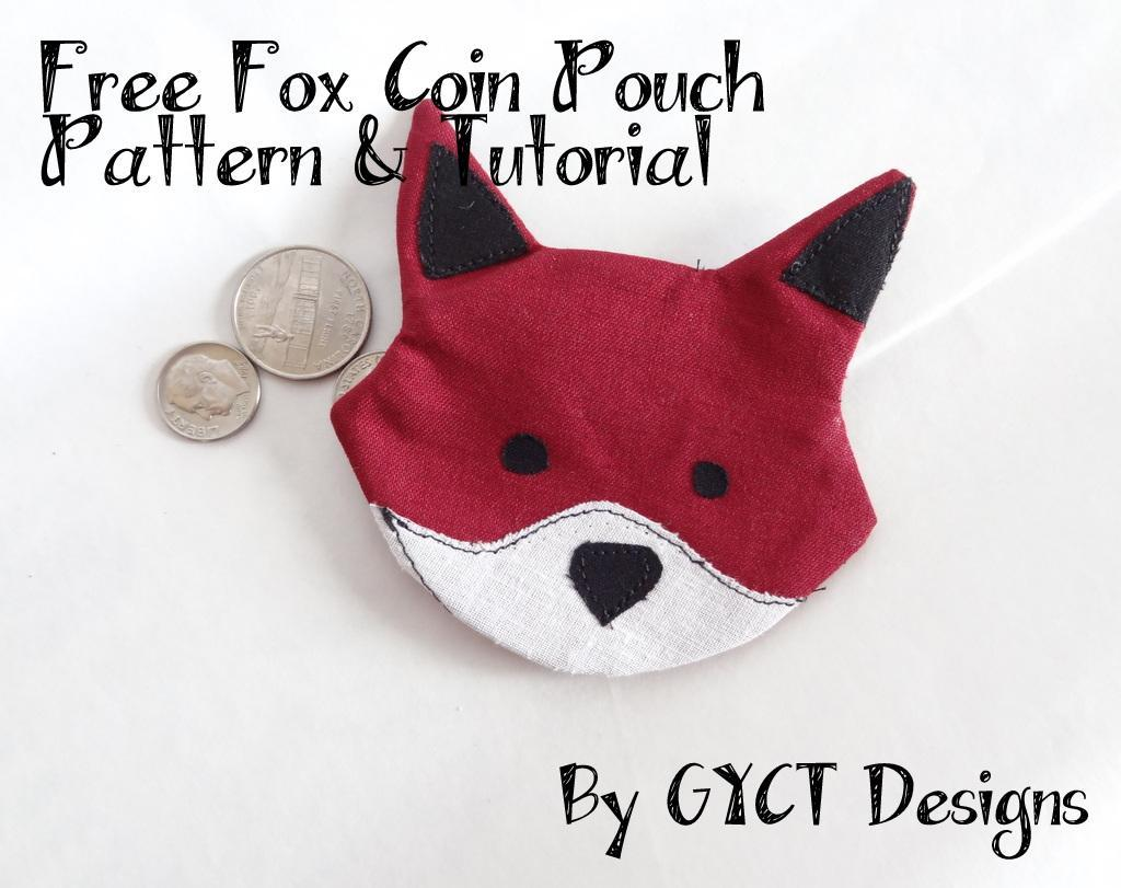 Free Fox Coin Pouch Pattern
