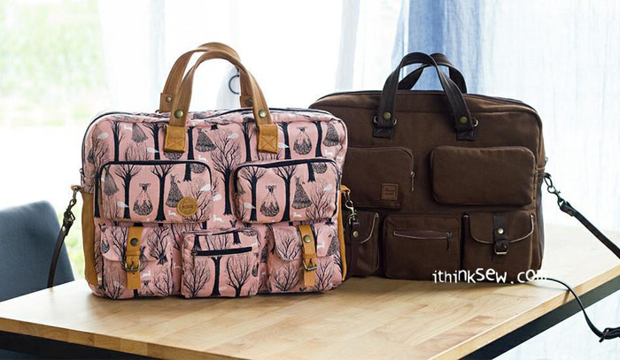 briefcase bag two versions