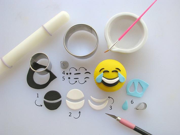 how to make insta worthy emoji cupcakes craftsy craftsy