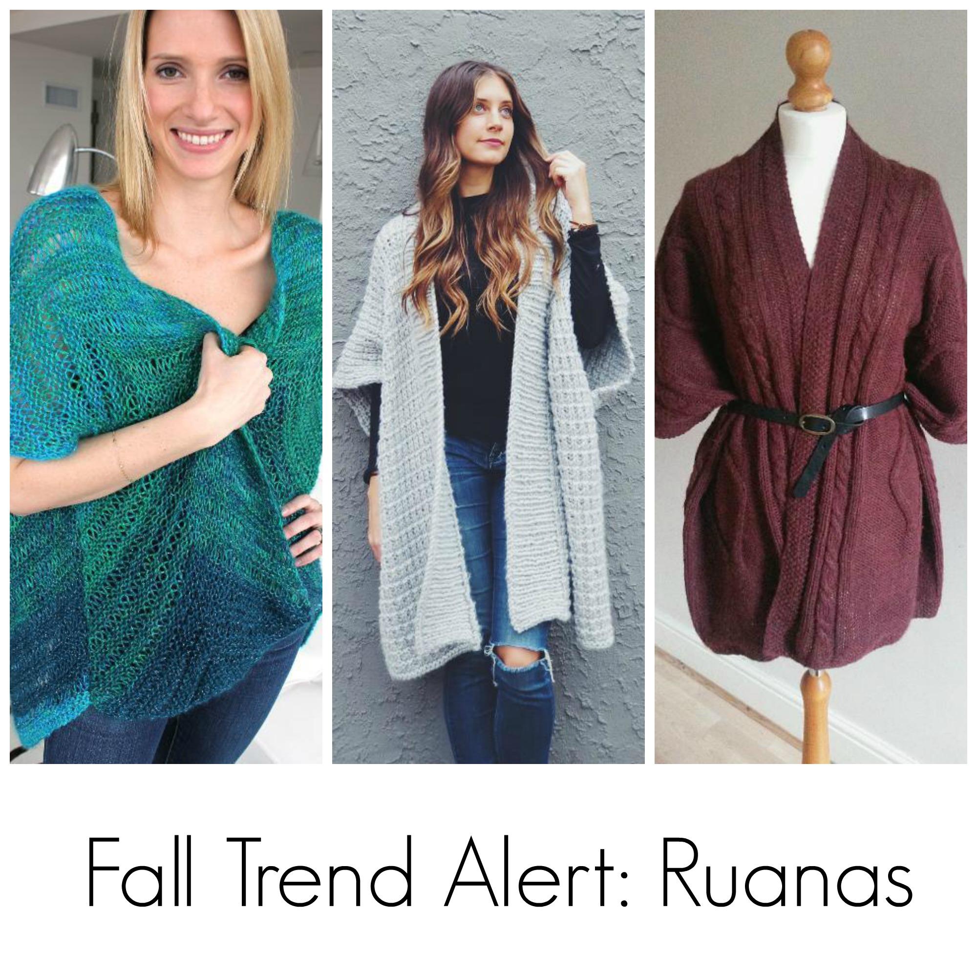 Ruana Knitting Pattern