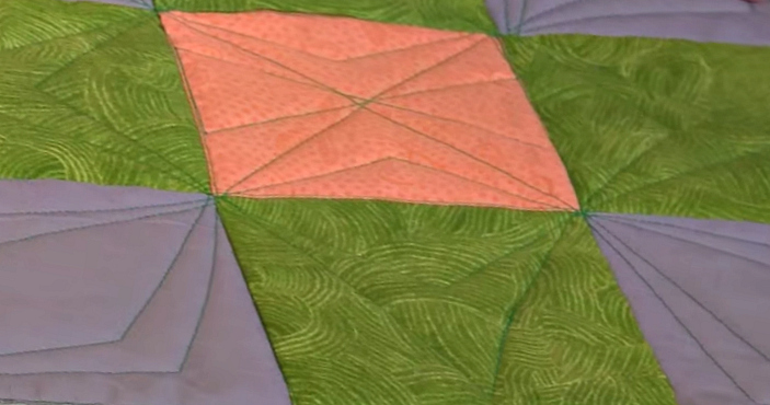 free motion quilt block