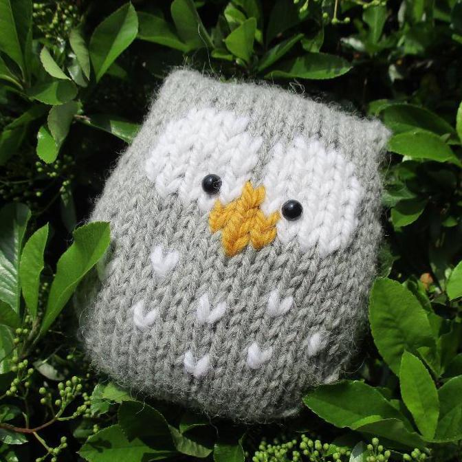 stuffy knit owl patterns