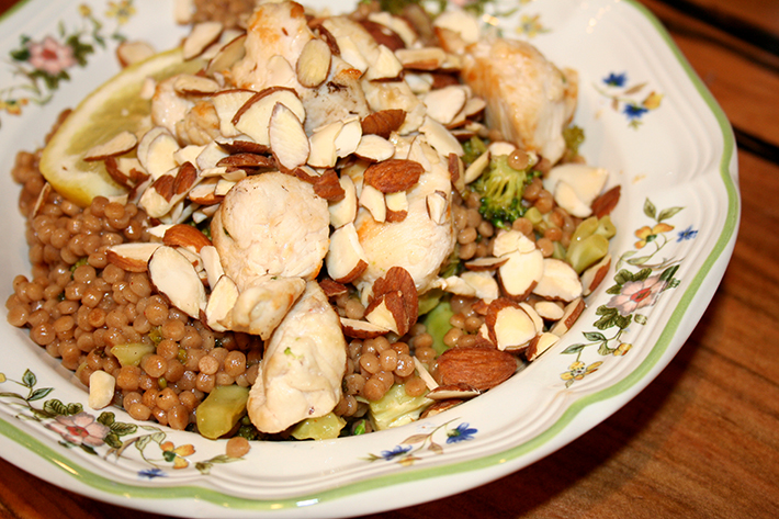 Couscous with chicken