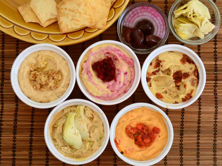How to Make 10 Easy Hummus Variations