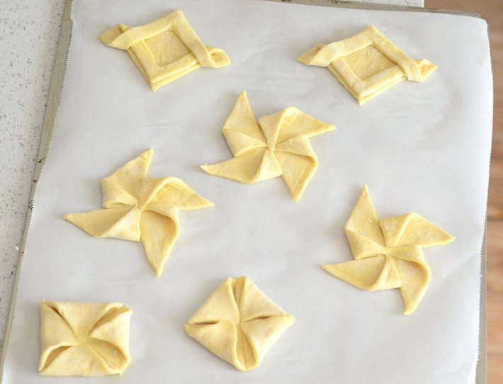 Danish Pastry Shapes Tutorial