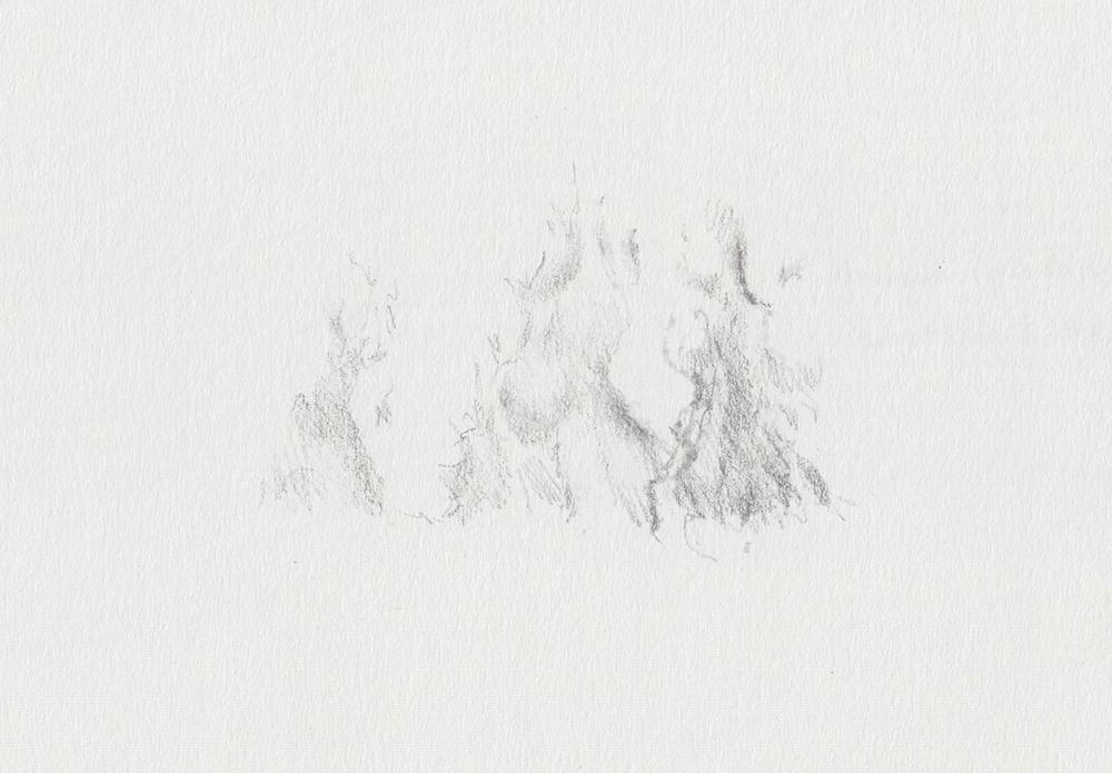 Fire sketch 2