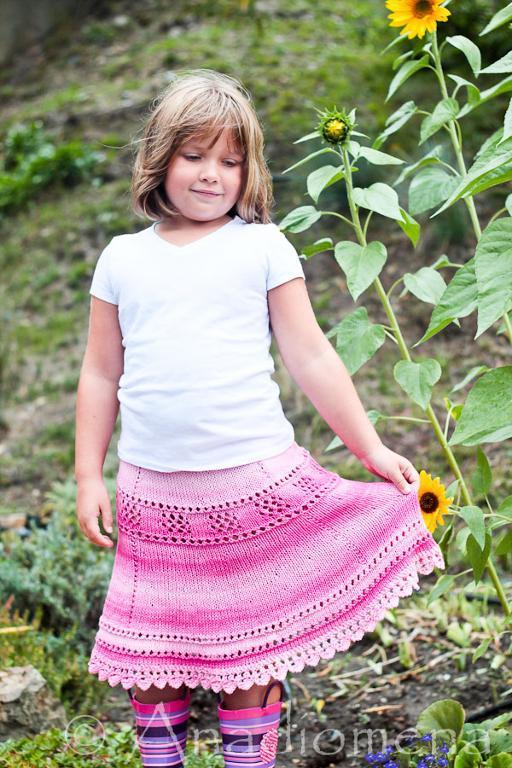 Breezy Summer Skirt FREE Knitting Pattern
