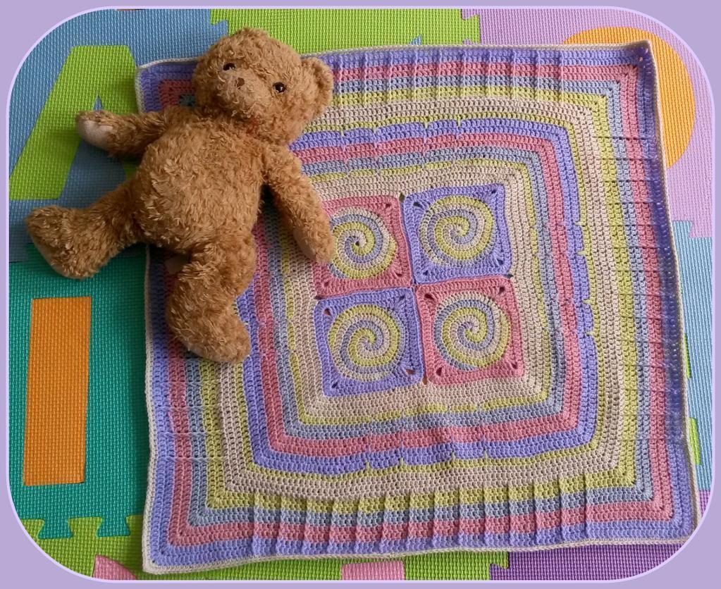 Apphia Baby Blanket FREE Crochet Pattern