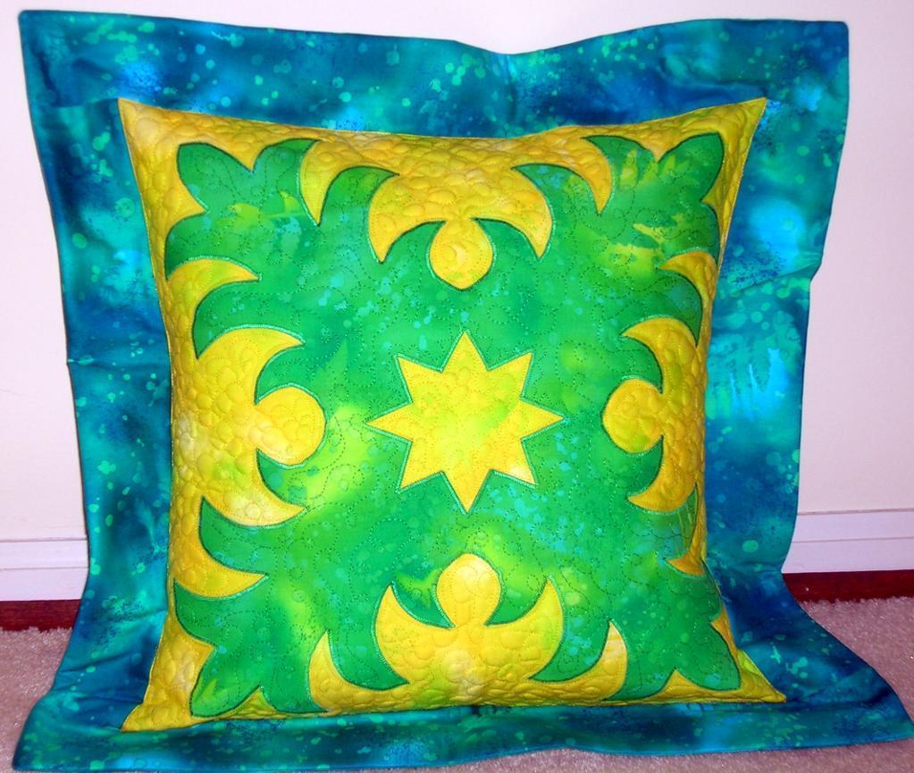 Hawaiian Flange Pillow