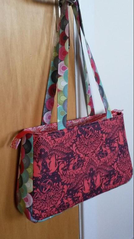 Pink Patterned DIY Tote Bag