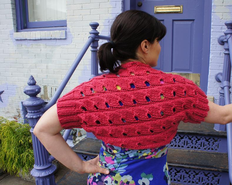 Chickadee Knitted Shrug Pattern