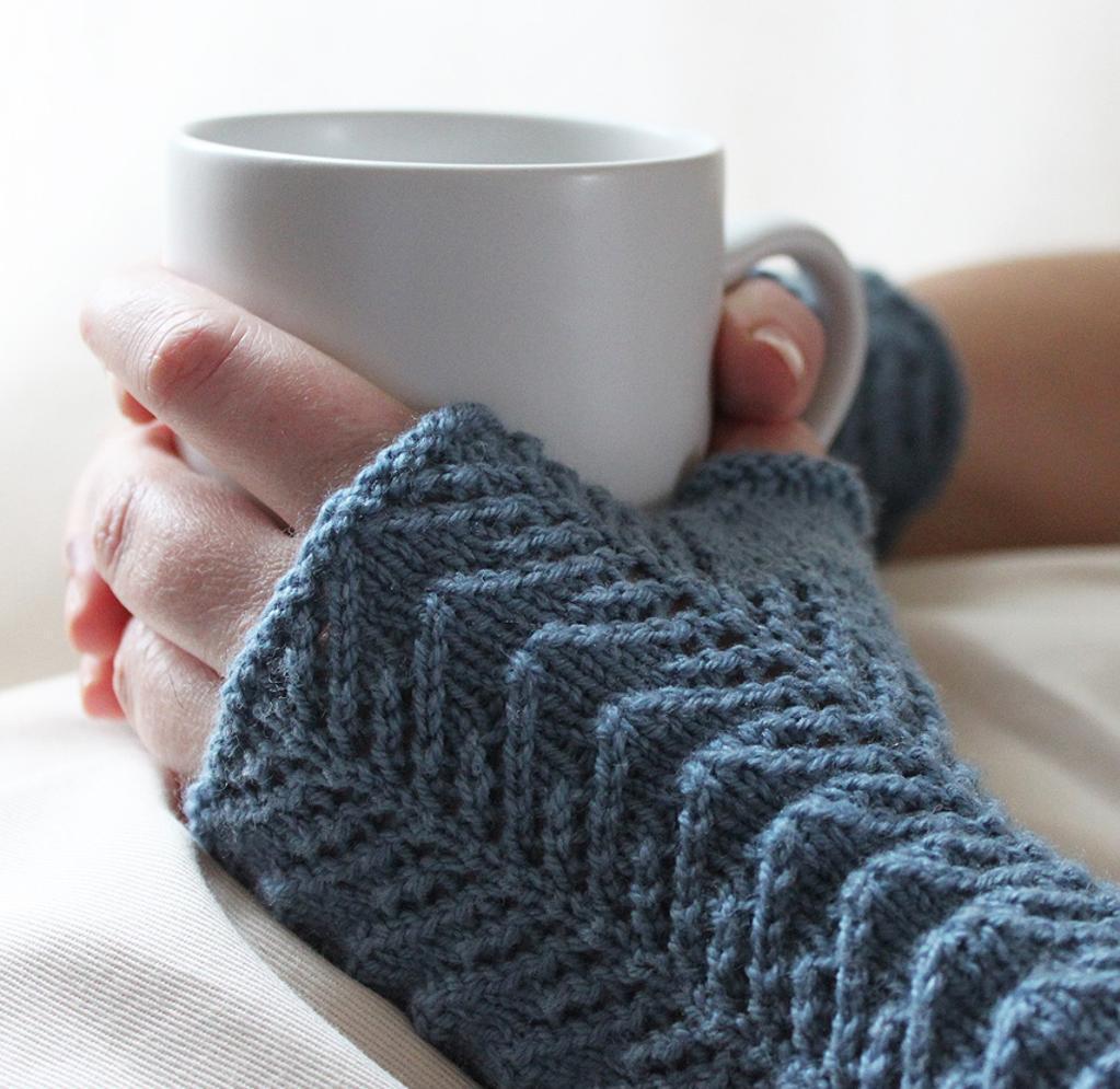 Twiglet Mitts Knitting Pattern