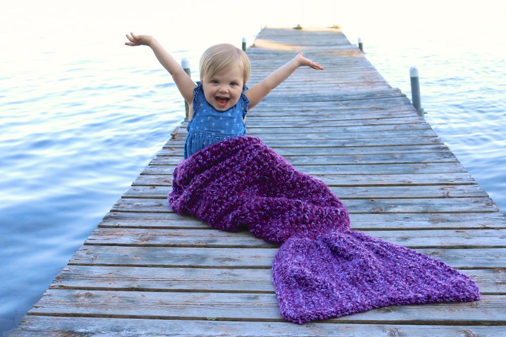 Easy Mermaid Tail Crochet Pattern