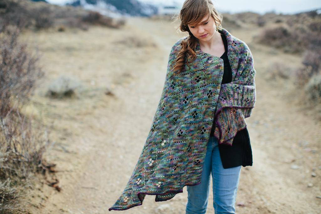 Wildflower Throw Crochet Pattern