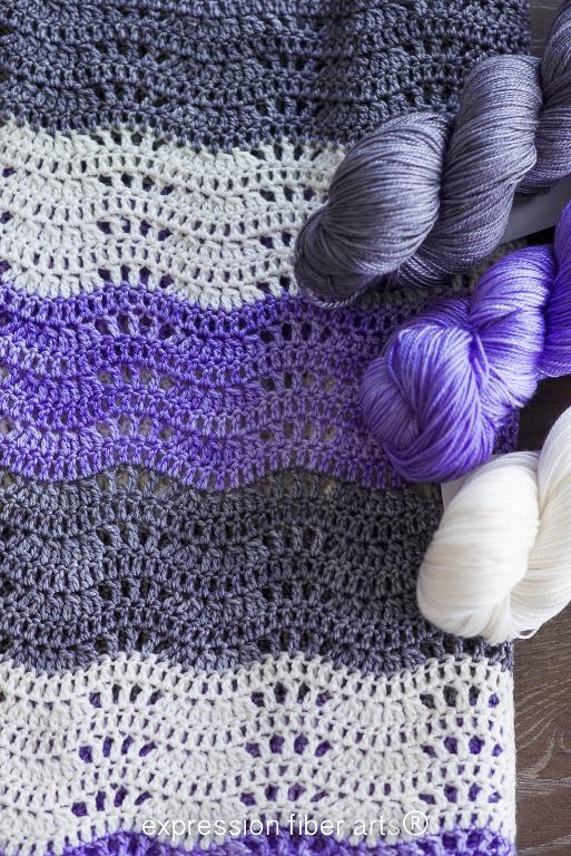Destiny Baby Blanket FREE Crochet Pattern