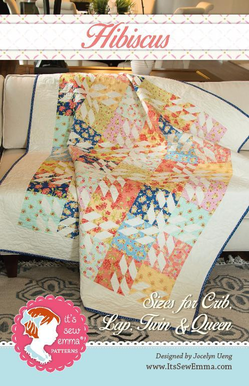 Hibiscus Quilt Pattern