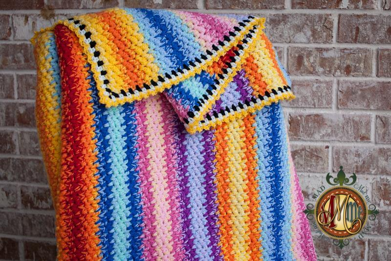Simply Mad Throw FREE Crochet Pattern