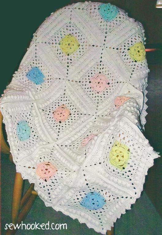 Ariel's Baby Blanket FREE Crochet Pattern