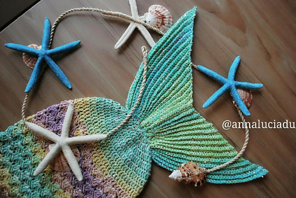 Crochet Mermaid Blanket Pattern