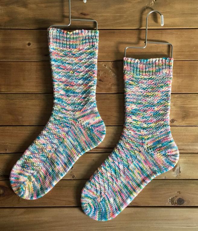 Mount Airy Socks Knitting Pattern