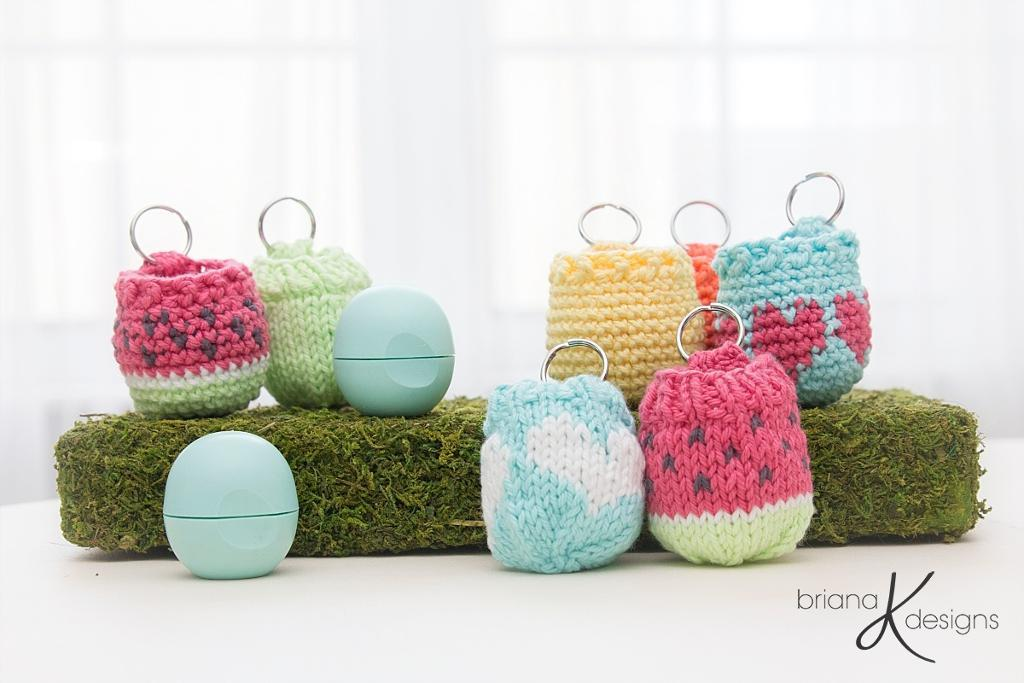Knit Lip Balm Holder FREE Pattern