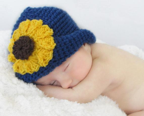 Sunflower Hat Crochet Pattern