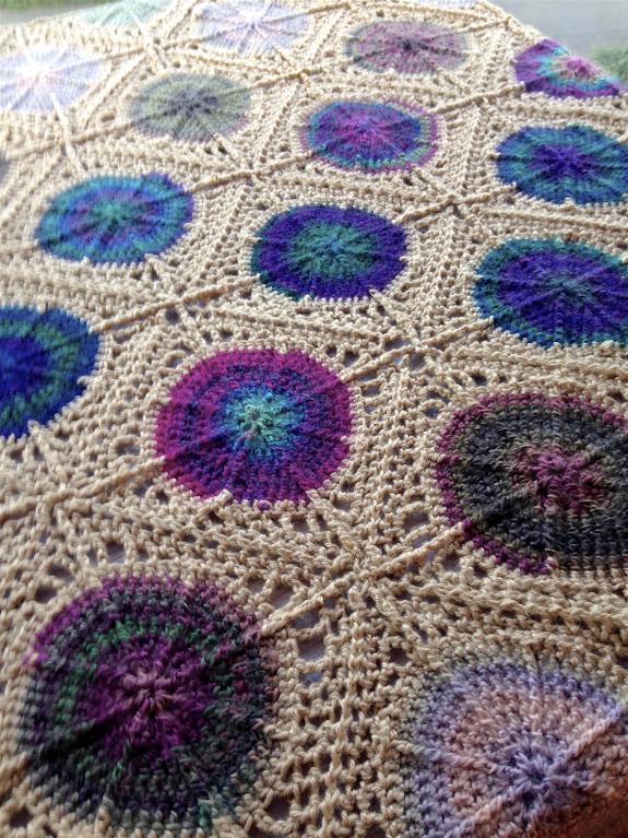 Bejewelled Throw Crochet Pattern
