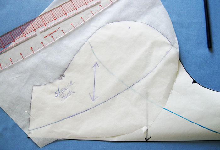 trace pattern piece