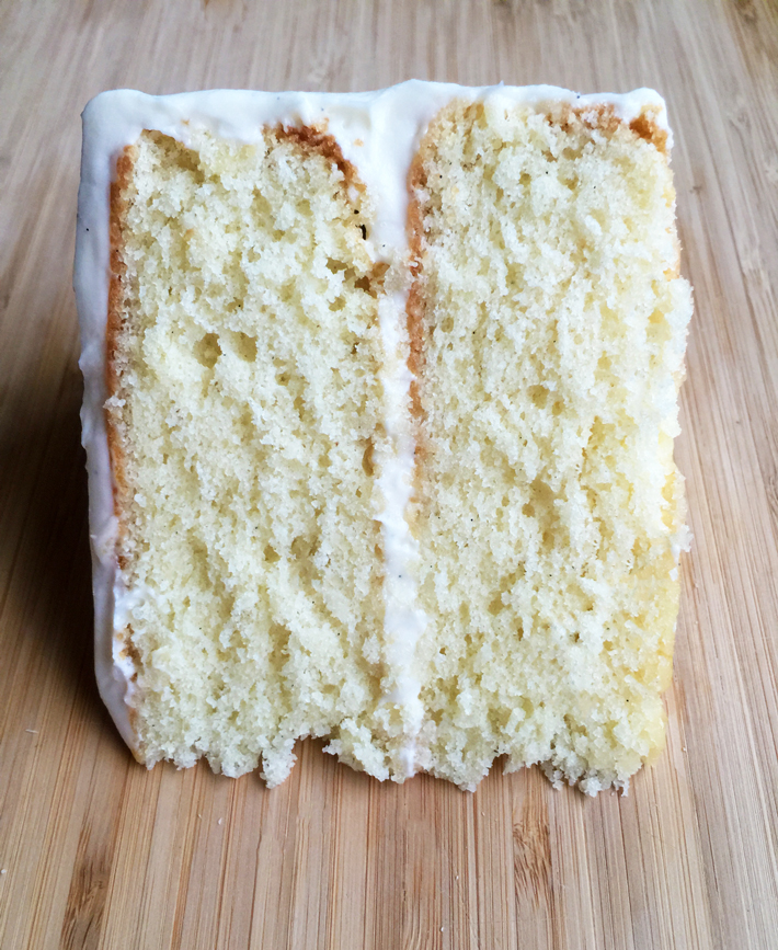 Vanilla Bean Cake Recipe on Bluprint