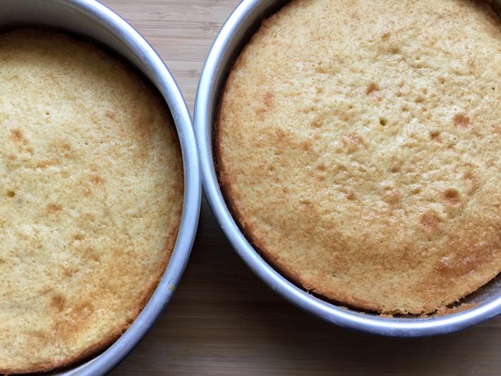 vanilla bean cakes
