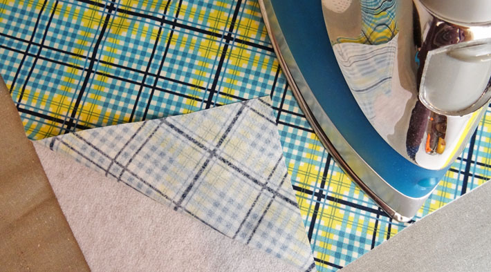 Add Fusible Fleece to Fabric