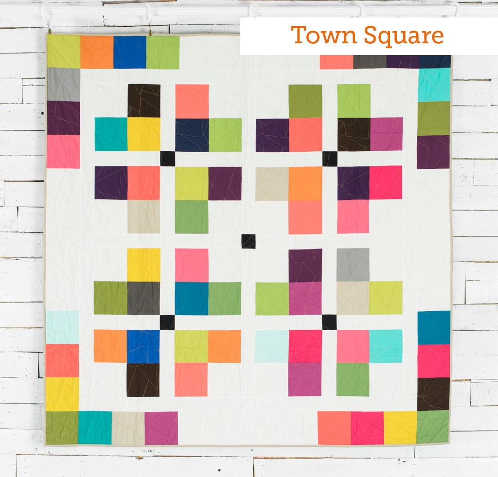 Town Square Boundless Mixers Quilt Kit