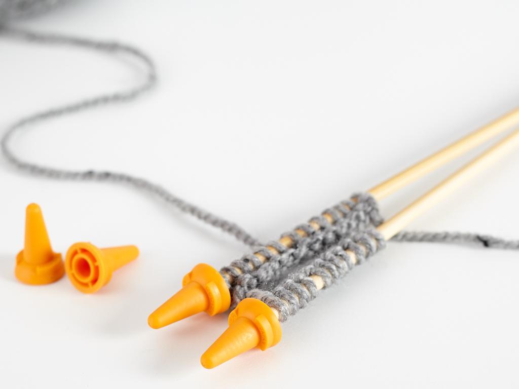 Clover Jumbo Knitting Needle Point Protectors