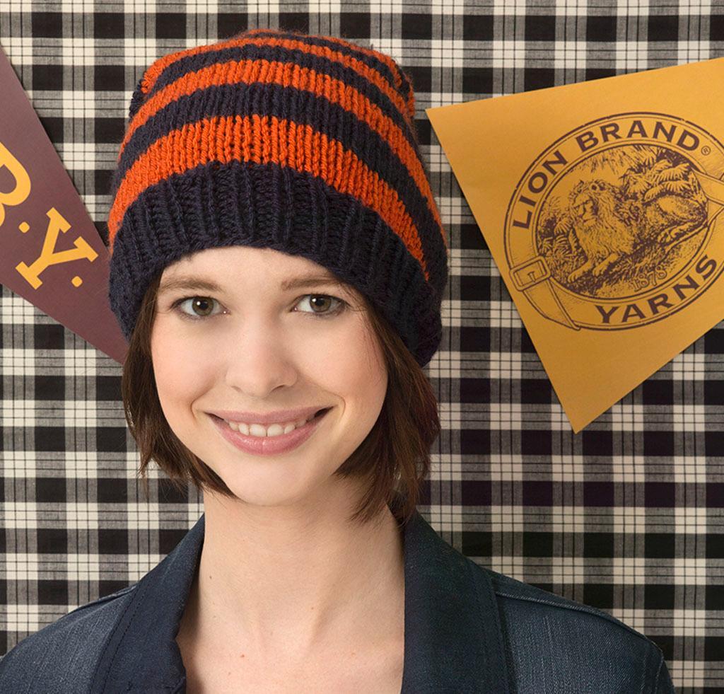 Junior Knit Hat Kit