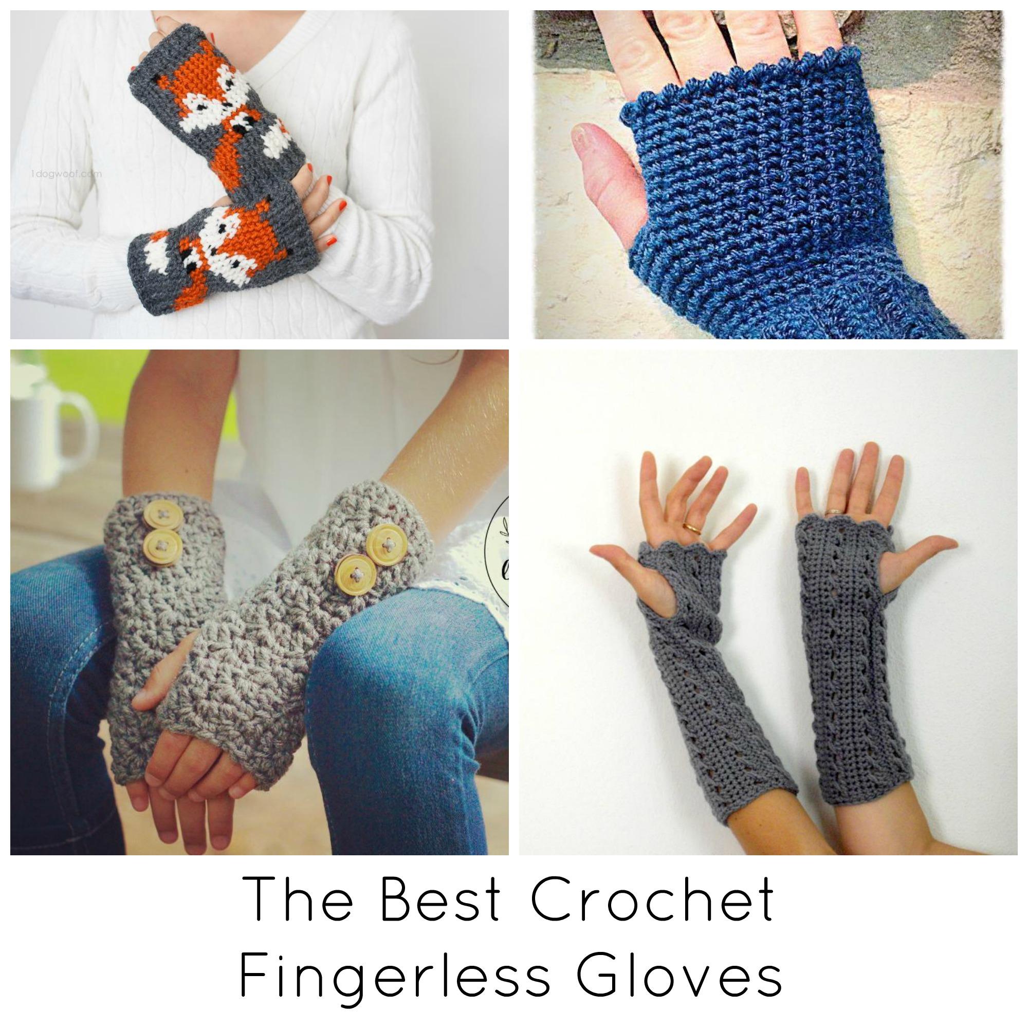 The Best Crochet Fingerless Gloves