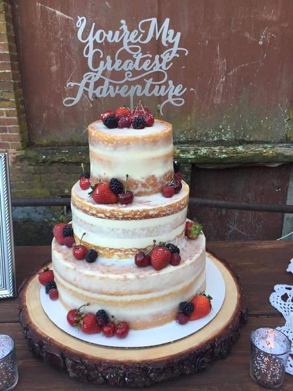 Nake Cake With Fruit by Bluprint member bitemebakery209