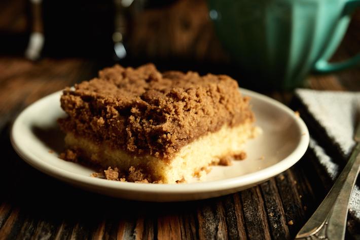 Brown Sugar Crumb Cake Recipe on Craftsy