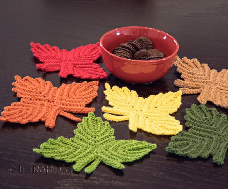 Canadian Maple Leaf Coaster