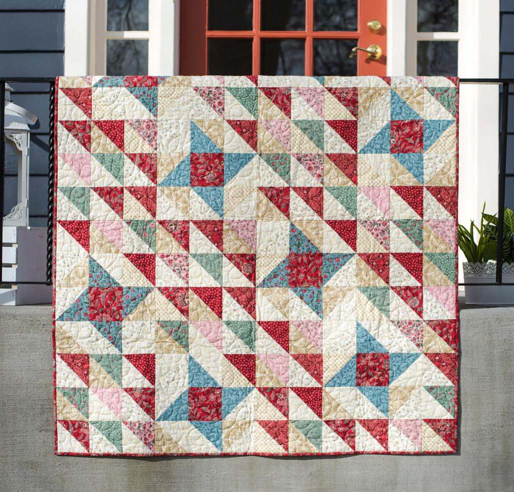 Charming Friendship Stars Quilt Kit