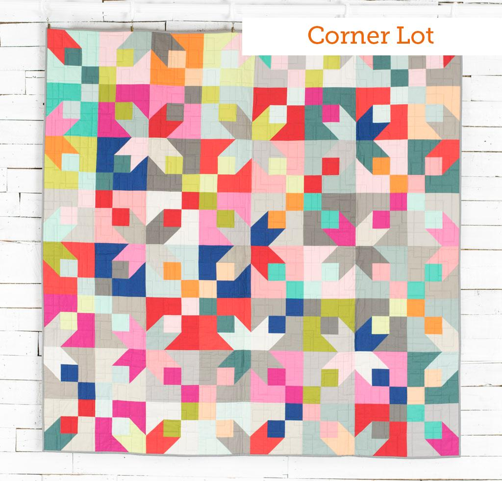 Corner Lot Boundless Mixers Quilt Kit