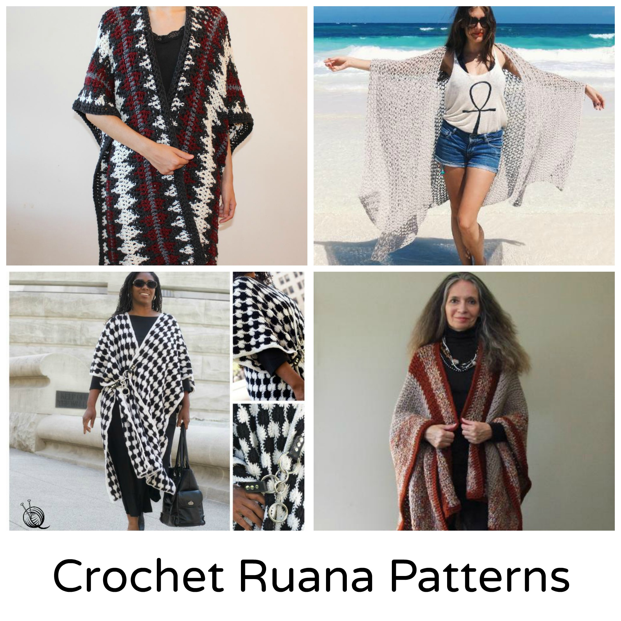 Crochet Ruana Patterns