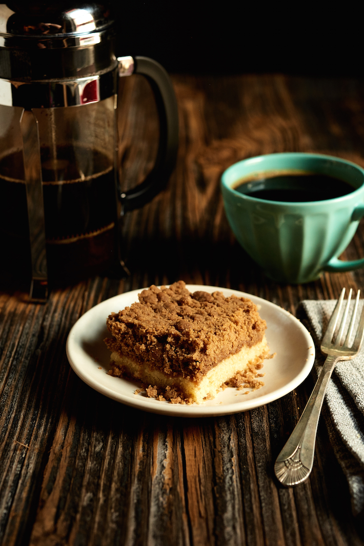 The Perfect Breakfast: Homemade Crumb Cake and Coffee