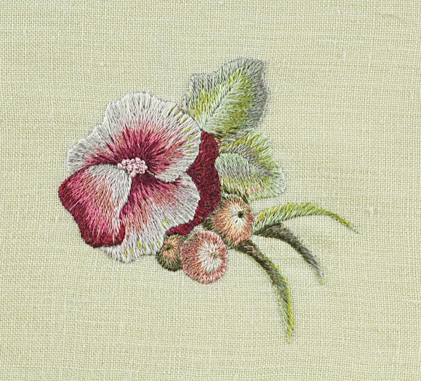 Autumn Flowers Needlepainting Embroidery
