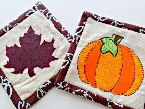 Fall Mug Rug Sewing Pattern