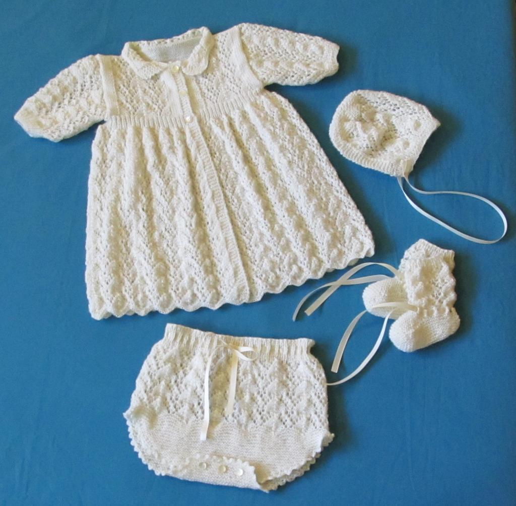 Hush A Bye Baby Layette PDF Knitting Patterns for Babies