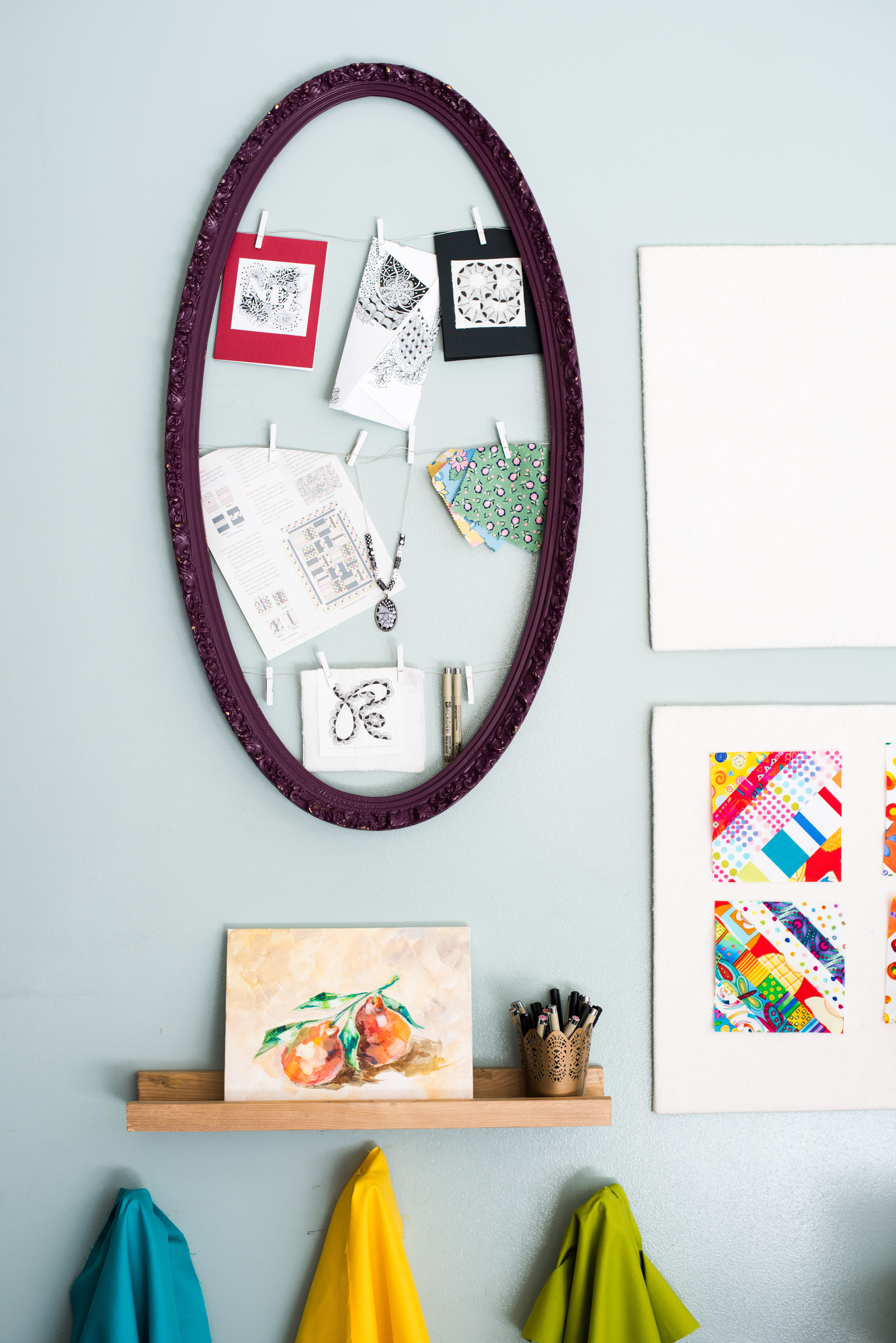 A Quilter's Inspiration Board
