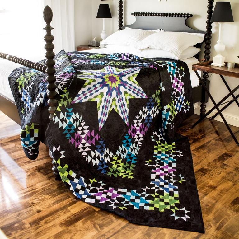Radiant Star Quilt Kit