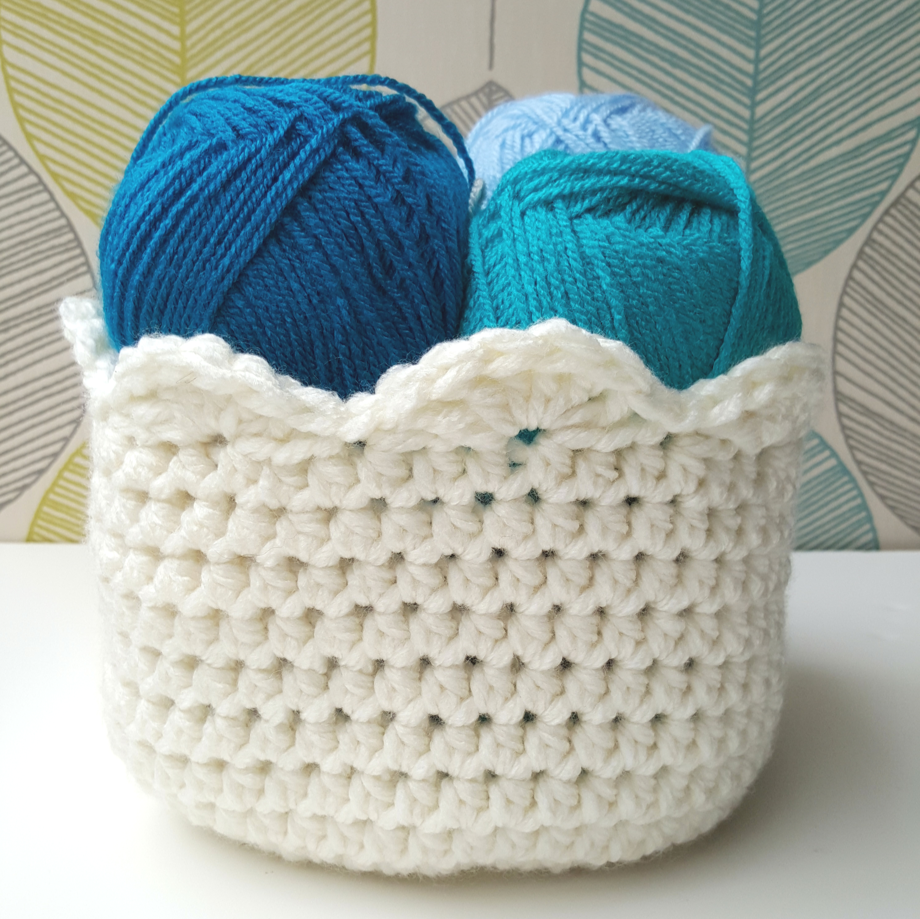 How to Crochet a Basket: FREE Tutorial on Bluprint!