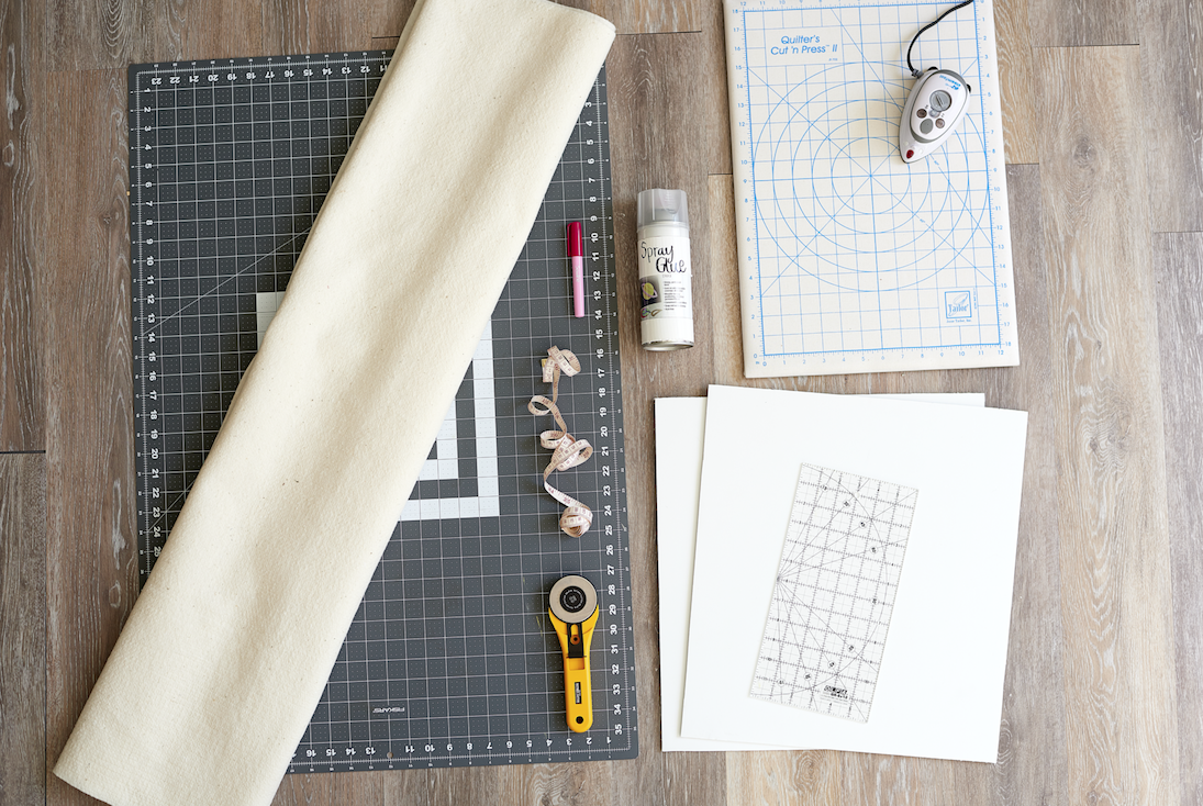 Portable Quilt Board Materials