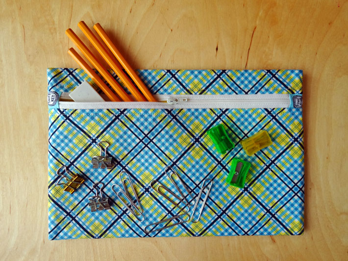 How to Sew a Pencil Case - A Sweet & Simple Tutorial on Craftsy